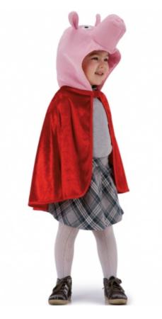 grise kappe 229x450 - Gris kostume til børn og baby