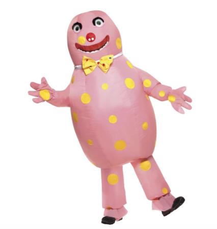 mr blobby kostume 426x450 - Oppustelige kostumer til voksne