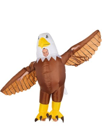 oppustelig ørn kostume 337x450 - Oppustelige kostumer til voksne