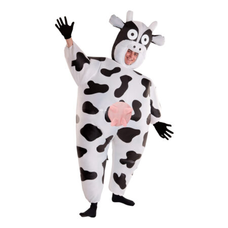 oppustelig ko kostume 450x450 - Oppustelige kostumer til voksne