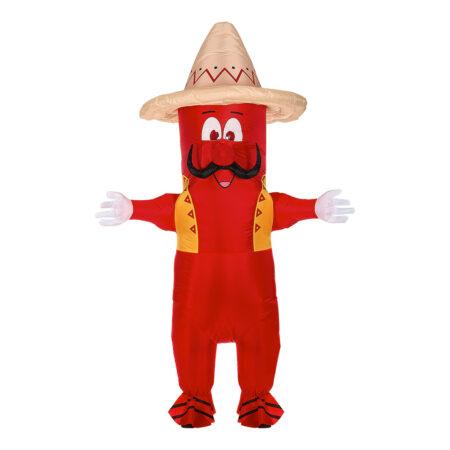 oppustelig mexicansk chili kostume 450x450 - Oppustelige kostumer til voksne