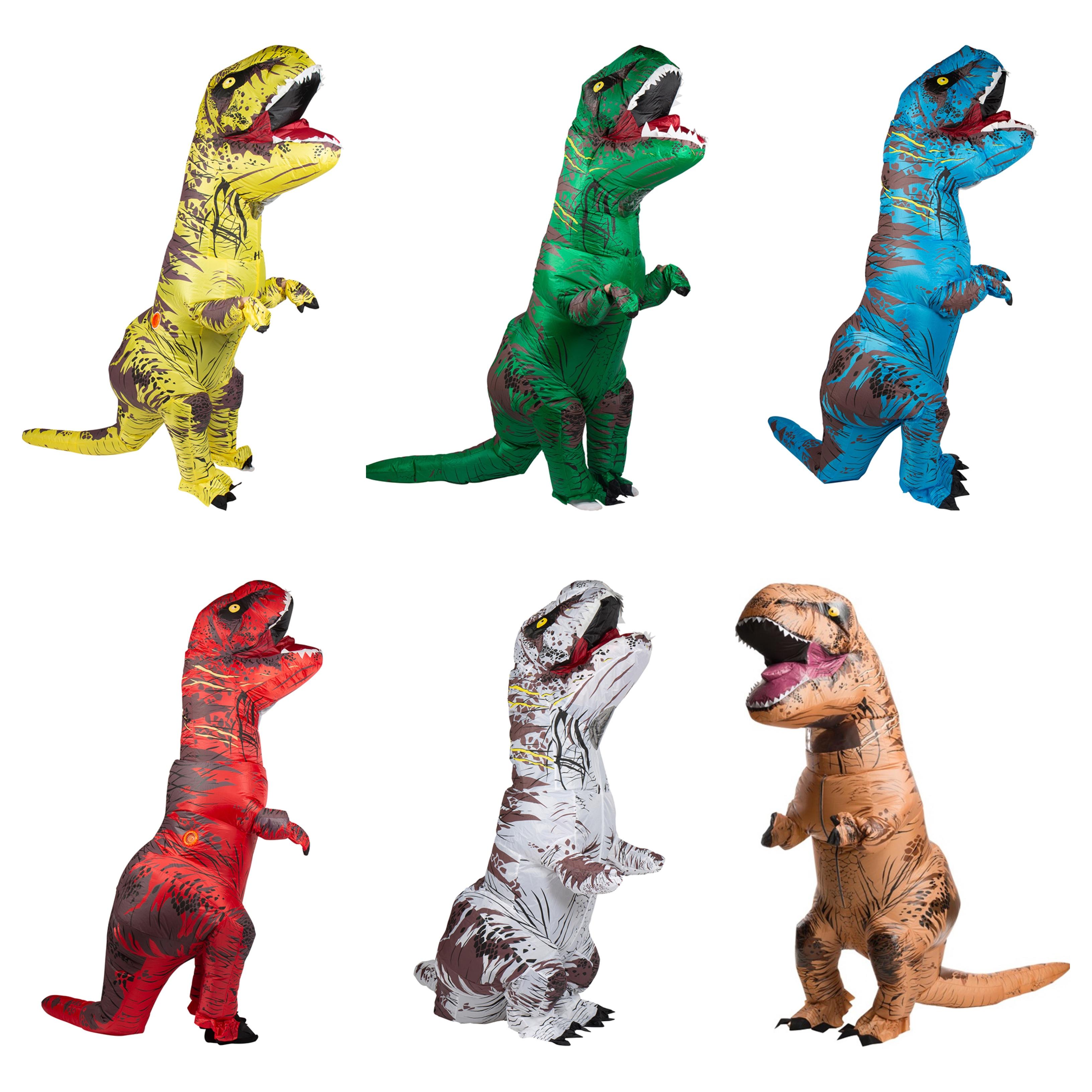 oppustelig t res kostume til voksne - Oppustelige kostumer til voksne