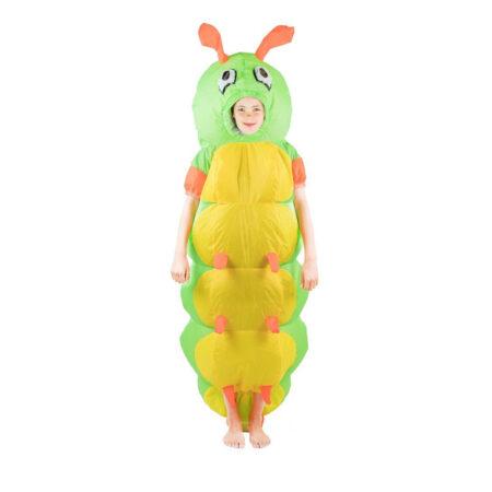 oppusteligt larve børnekostume 450x450 - Oppustelige kostumer til børn