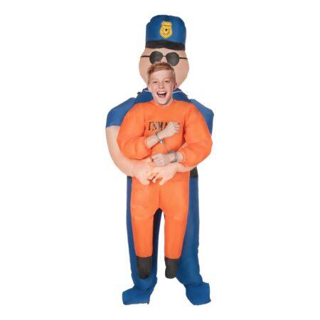 oppusteligt politi børnekostume 450x450 - Oppustelige kostumer til børn