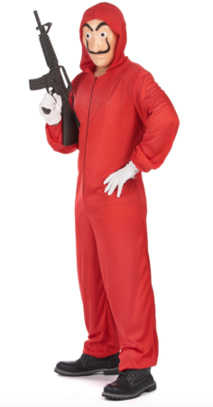 papirhuset kostume til voksne 236x450 - Tyveknægt kostume til voksne