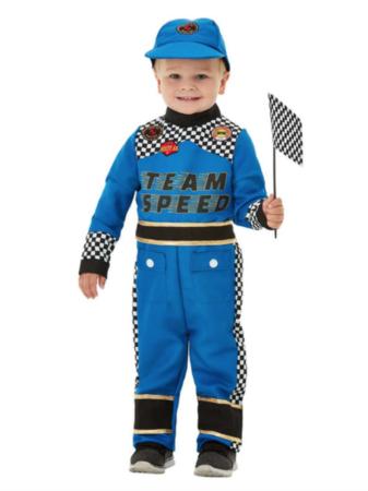 racerkører kostume til børn 337x450 - Racerkører kostume til børn og baby
