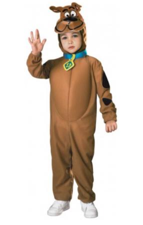 scooby doo kostume 4 år scoobydoo kostume 3 år heldragt fastelavnskostume