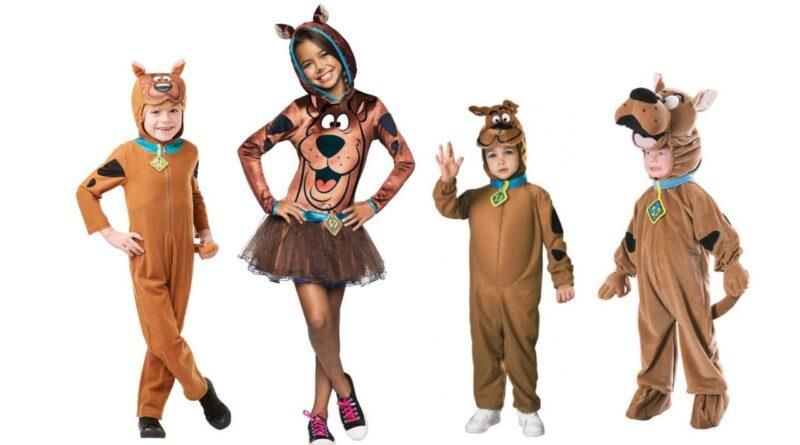 scooby doo kostume til børn scooby doo børnekostume tegnefilm kostume scooby-doo udklædning til børn