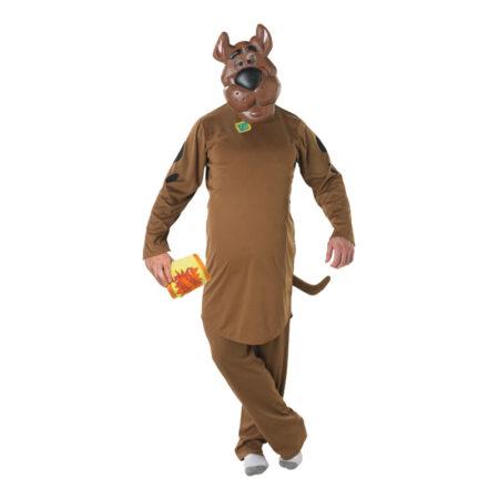 scooby doo kostume til voksne hund kostume til voksne scooby-doo udklædning til mænd