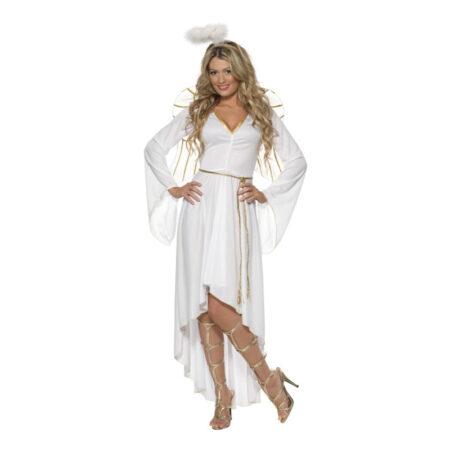 Engel kostume til kvinder 450x450 - Hvide kostumer til voksne
