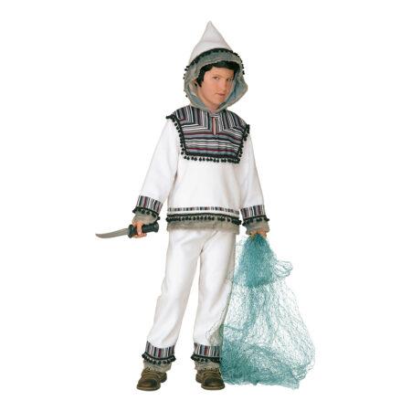 Eskimo børnekostume 450x450 - Hvide kostumer til børn