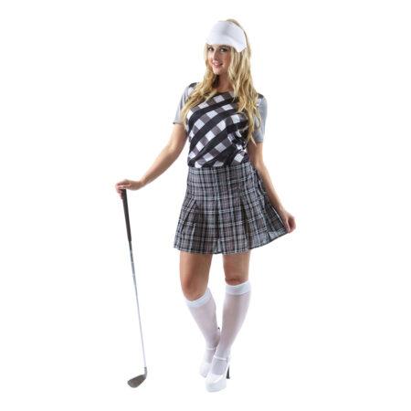 Golfspiller kostume til kvinder 450x450 - Golfspiller kostume til voksne