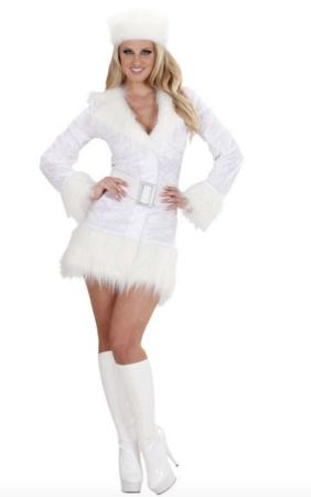 Hvid russer kostume 282x450 - Hvide kostumer til voksne