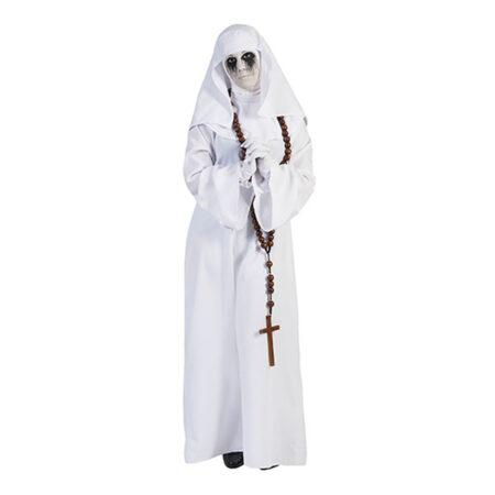 Hvidt nonne kostume 450x450 - Hvide kostumer til voksne