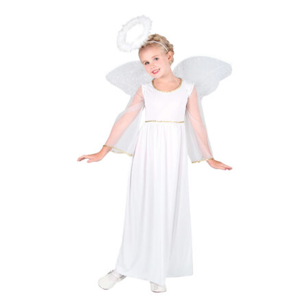Juleengel kostume til børn 450x450 - Hvide kostumer til børn