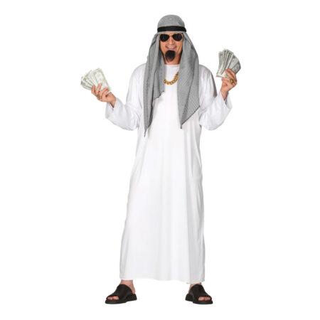 Rig sheik kostume 450x450 - Hvide kostumer til voksne