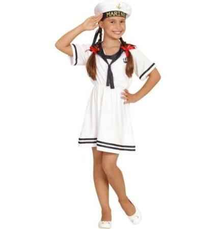 Sømand kostume til piger 426x450 - Hvide kostumer til børn