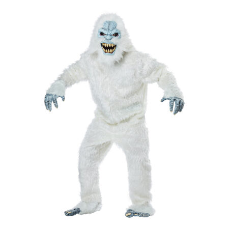 Sneudyr kostume 450x450 - Hvide kostumer til voksne