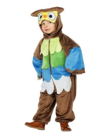 Ugle kostume til børn 332x450 - Ugle kostume til børn og voksne