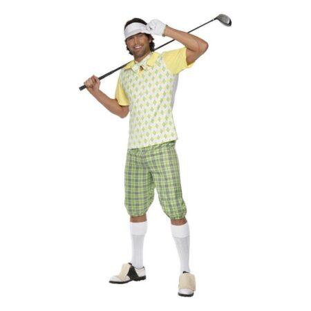 golfspiller kostume golfspiller udklædning golf kostume sportskostume sport temafest udklædning