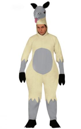 lama voksenkostume 282x450 - Lama kostume til voksne