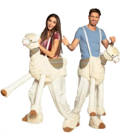 ridende lama kostume  405x450 - Lama kostume til voksne