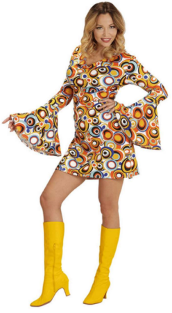 70erne kostume til kvinder yvonne kostume til kvinder