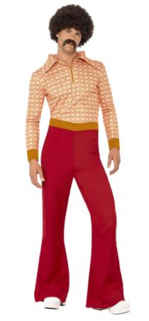 70erne kostume til mænd 70erne udklædning mand