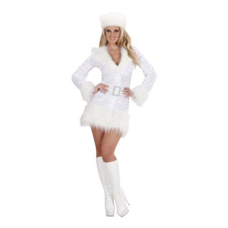 Hvidt russisk kostume til kvinder 450x450 - Russisk kostume til voksne