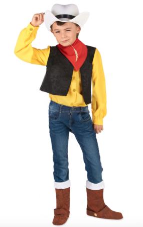 Lucky luke børnekostume 285x450 - Lucky Luke kostume til børn