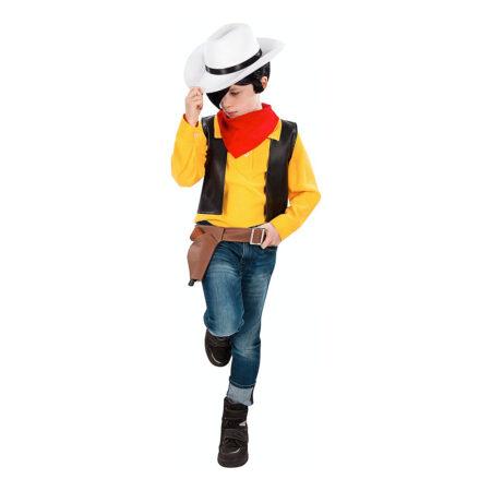 Lucky luke børnekostume 450x450 - Lucky Luke kostume til børn
