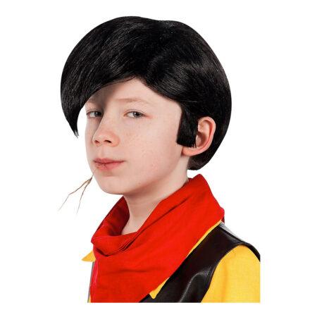 Lucky luke børneparyk 450x450 - Lucky Luke kostume til børn