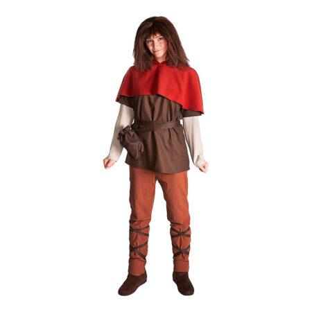 Ronja røverdatter voksenkostume 450x450 - Ronja Røverdatter kostume til børn og voksne