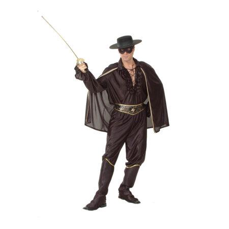 Zorro kostume 450x450 - Zorro kostume til voksne