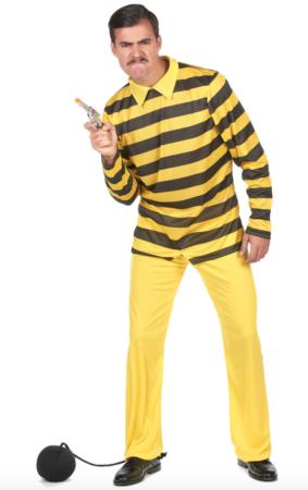 dalton brødrene voksenkostume 283x450 - Lucky Luke kostume til voksne