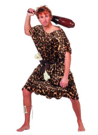 hulemand kostume 329x450 - Hulemand kostume til voksne