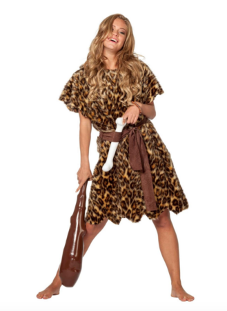 hulemand kostume til kvinder 329x450 - Hulemand kostume til voksne
