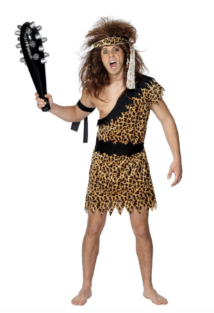 hulemand kostume til mænd 308x450 - Hulemand kostume til voksne