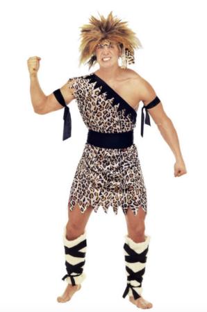 hulemand voksenkostume 298x450 - Hulemand kostume til voksne