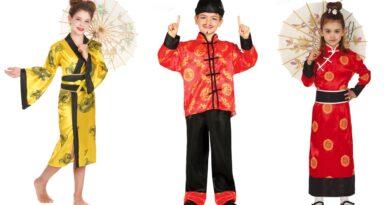 kinesisk kostume til børn, kinesisk udklædning til børn, kinesiske børnekostumer, kinesisk kostume til piger, kinesisk kostume til drenge, kinesisk fastelavnskostume til børn