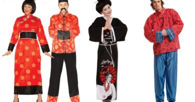 kinesisk kostume til voksne, kinesisk voksenkostume, kinesisk temafest kostume, kinesisk kostume til mænd, kinesisk kostume til kvinder, kinesisk fastelavnskostume til voksne, kinesisk udklædning til voksne