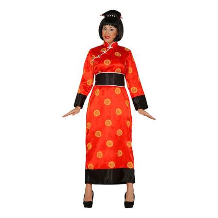 kinesisk kvinde kostume 450x450 - Kinesisk kostume til voksne