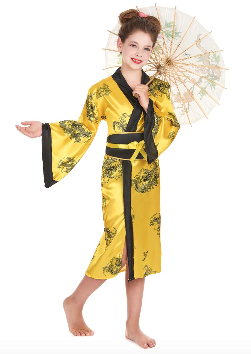 kinesisk pige kostume - KostumeUniverset
