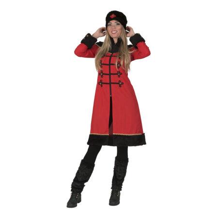 kosak dame kostume 450x450 - Russisk kostume til voksne