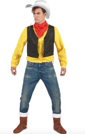 lucky luke kostume 286x450 - Lucky Luke kostume til voksne