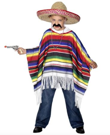 mexicaner børnekostume 368x450 - Mexicaner kostume til børn