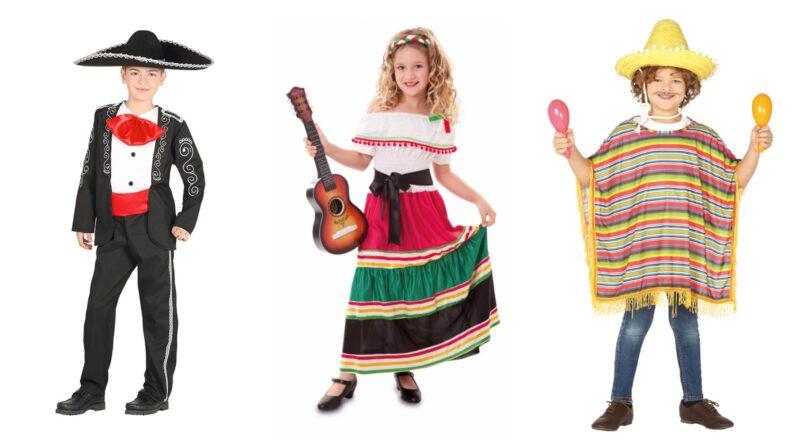 mexicaner kostume til børn, mexicaner udklædning til børn, mexicaner børnekostume, mexicansk kostume til børn, mexicansk udklædning til børn, mexicansk temafest kostume, mexicansk fastelavnskostume til børn, mexicaner kostume til drenge, mexicaner kostume til piger