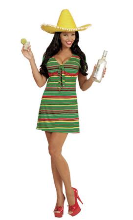 mexicaner kostume til kvinder 272x450 - Mexicaner kostume til voksne