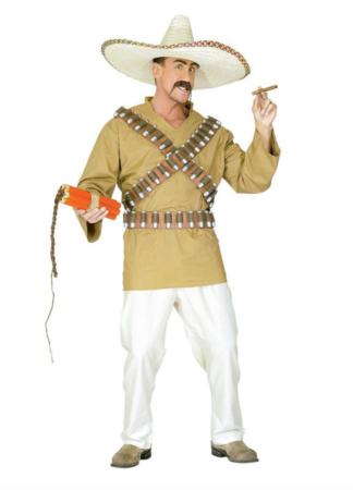 mexicaner kostume til voksne 324x450 - Mexicaner kostume til voksne