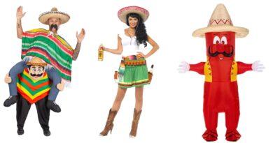 mexicaner kostume til voksne, mexicaner udklædning til voksne, mexicansk kostume til voksne, mexicanske voksenkostumer, mexicaner kostume til kvinder, mexicaner kostume til mænd, mexicansk temafest, mexicaner fastelavnskostume til voksne